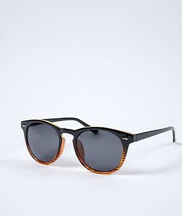 Classic Half Tortoise & Black Sunglasses