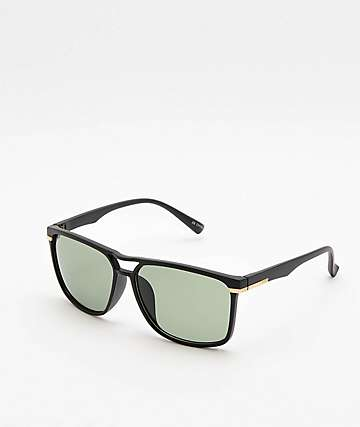 Classic XL Square Black Sunglasses