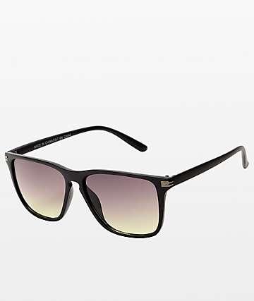 Classic gafas de sol en negro y plata
