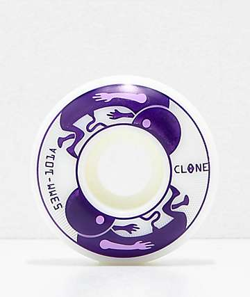 Clone Wheels by AWS Embryo 53mm 101a Skateboard Wheels
