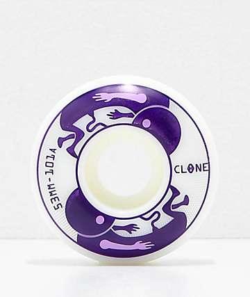 Clone Wheels de AWS Embryo 53mm 101a ruedas de skate