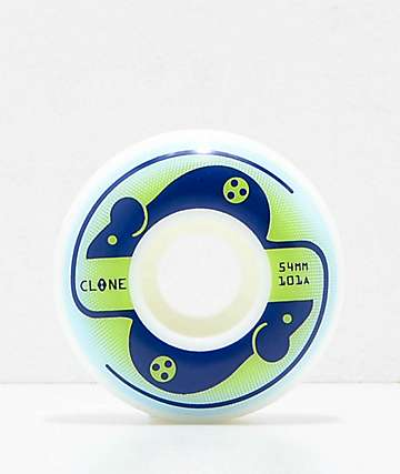 Clone Wheels de AWS Mice 54mm 101a ruedas de skate