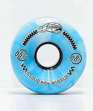 Cloud Ride 65mm 78a Blue Marble Cruiser Wheels
