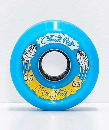 Cloud Ride Mini Slide 66mm 83a Blue Cruiser Wheels