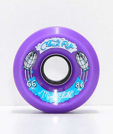 Cloud Ride Mini Slide 66mm 86a Purple Cruiser Wheels