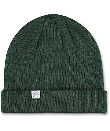 Coal Flt Hunter Green Beanie