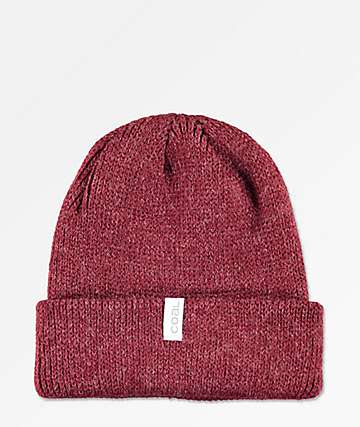 Coal Frena Heather Burgundy Beanie