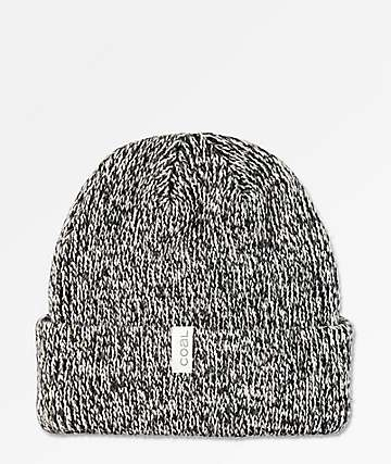 Coal Frena Marbled Black Beanie