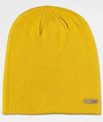 Coal Julietta Yellow Beanie