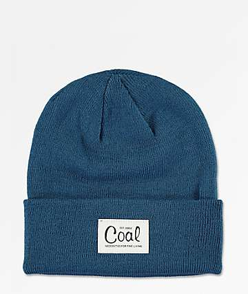 Coal Mel Sea Blue Beanie