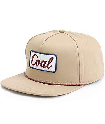 Coal Palmer Snapback Hat