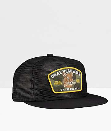 Coal The Everson Black Snapback Hat