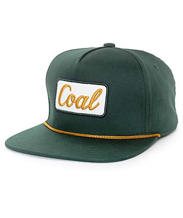 Coal The Palmer Forest Green Snapback Hat