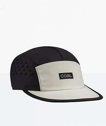 Coal The Provo Black Strapback Hat