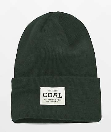 Coal The Uniform Dark Green Beanie