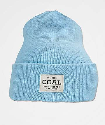 Coal The Uniform Light Blue Beanie