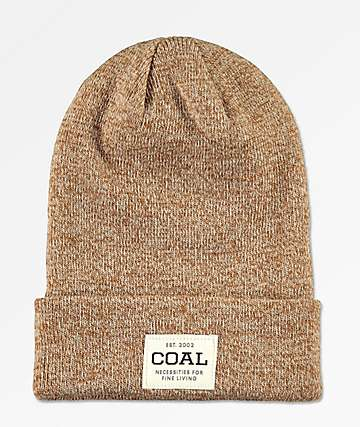 Coal The Uniform Light Brown Beanie