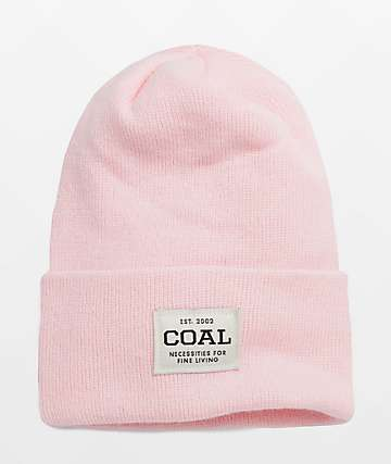 Coal The Uniform Pink Beanie