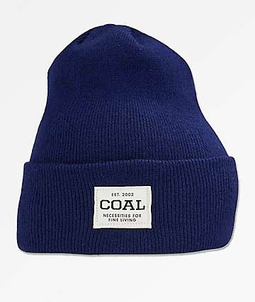 Coal The Uniform Royal Blue Beanie