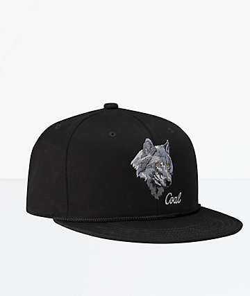 Coal The Wilderness SP Black Snapback Hat