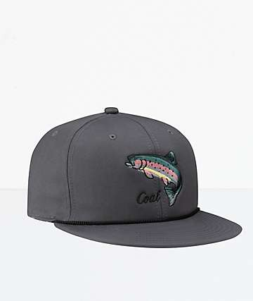 Coal The Wilderness SP Charcoal Snapback Hat