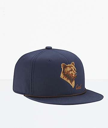 Coal The Wilderness SP Navy Snapback Hat