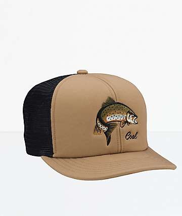 Coal The Wilds Light Brown Snapback Hat