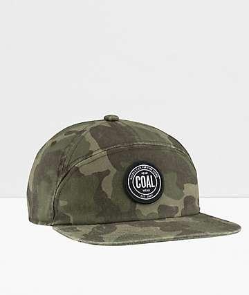 Coal The Will Camo Strapback Hat