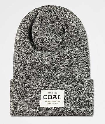 63460bb1c9c Coal Uniform Marbled Black Beanie