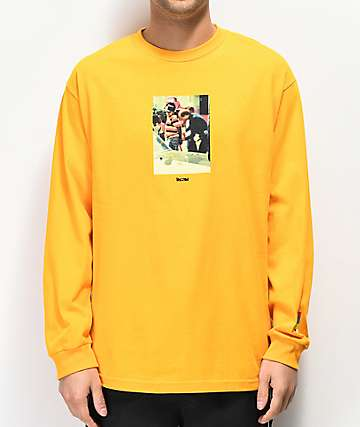 Color Bars x Boyz N The Hood Arrest Gold Long Sleeve T-Shirt