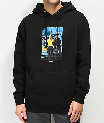 Color Bars x Boyz N The Hood Poster Black Hoodie