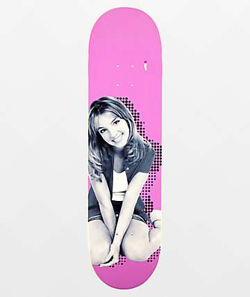 "Color Bars x Britney Spears Pop 8.25"" Skateboard Deck"