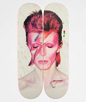 "Color Bars x David Bowie Aladdin Sane 8.25"" Skateboard Decks"