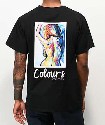 Colours Collectiv Aja OG Black T-Shirt