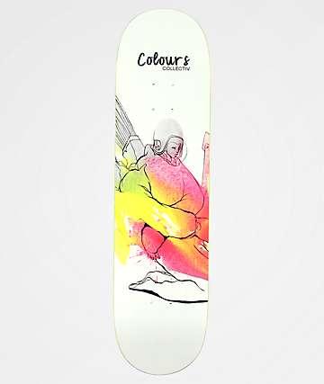 """Colours Collectiv Hoefler Rocket Girl 8.1"""" Skateboard Deck"""