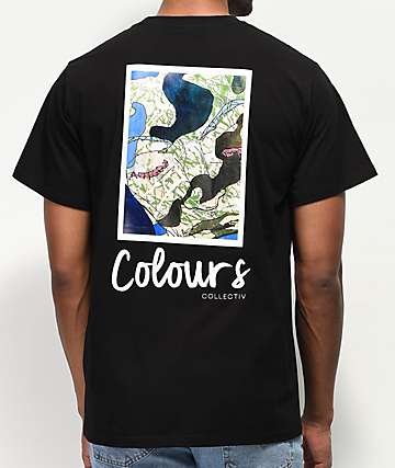 Colours Collectiv Yamada Face Black T-Shirt