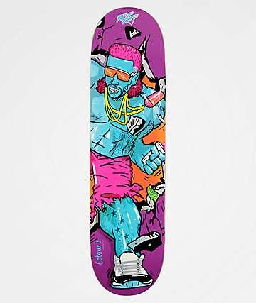 "Colours Collectiv x Riff Raff Incredible Riff Raff 8.25"" Skateboard Deck"