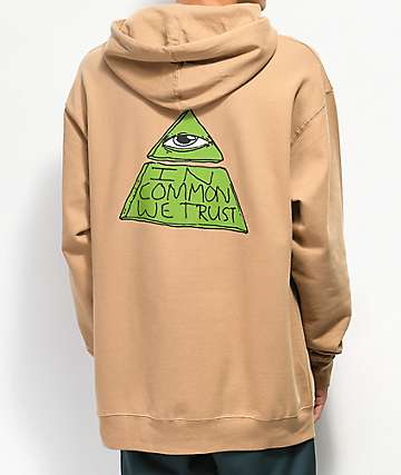Common Trust Fund Tan Hoodie