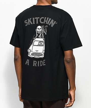 Concrete Native Skitchin Black T-Shirt
