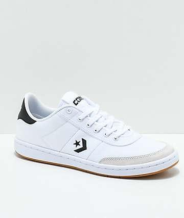 Converse Barcelona Pro Black & White Skate Shoes