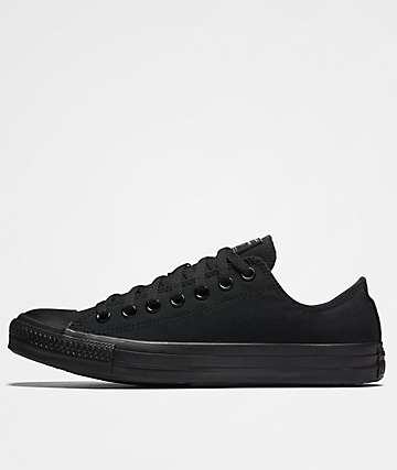 Converse CTAS Core Ox Black & Black Shoes