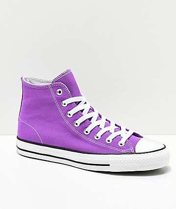 Converse CTAS Pro Electric zapatos morados