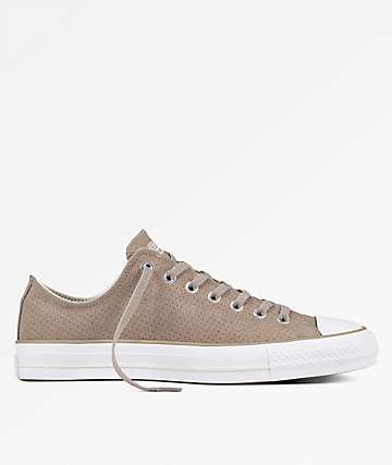 Converse CTAS Pro Ox Malted Egret & White Shoes