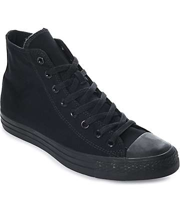 Converse Chuck Taylor All Star Black Hi Top Shoes 8e817d98a