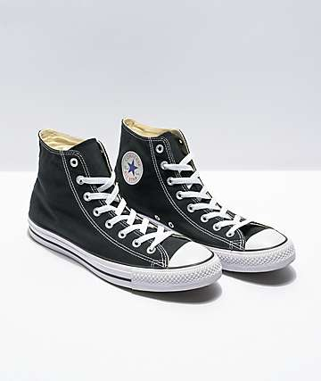 8a2a8decdf38eb Converse Chuck Taylor All Star Black High Top Shoes