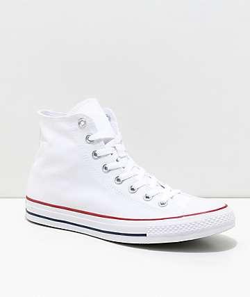 Converse Chuck Taylor All Star Hi zapatos blancos