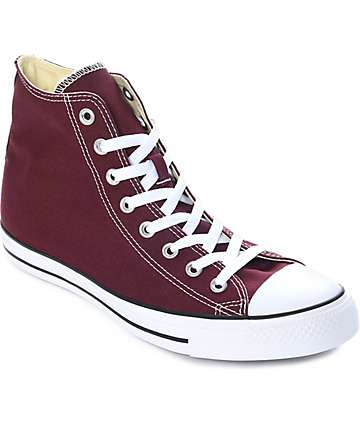 Converse Chuck Taylor All Star zapatos en color vino