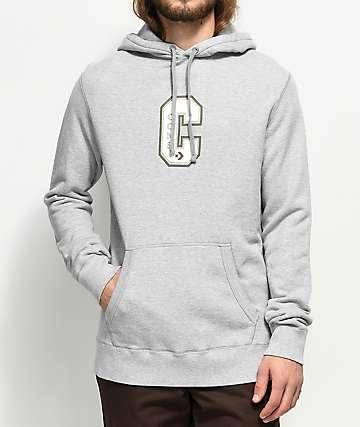 Converse Cons Varsity Grey Hoodie