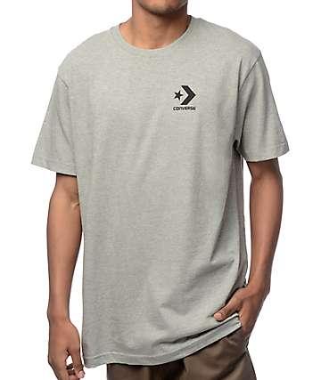 Converse Core Star Chevron Heather Grey T-Shirt