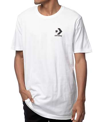 Converse Core Star Chevron White T-Shirt